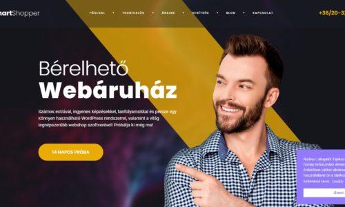 SmartShopper a bérelhető webáruház