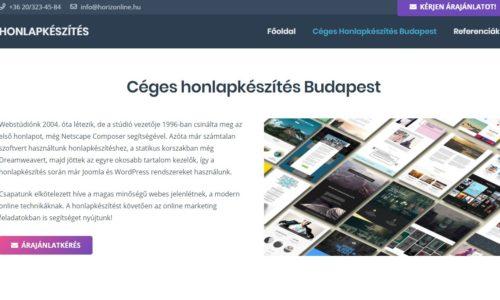 Új WordPress honlapkészítés
