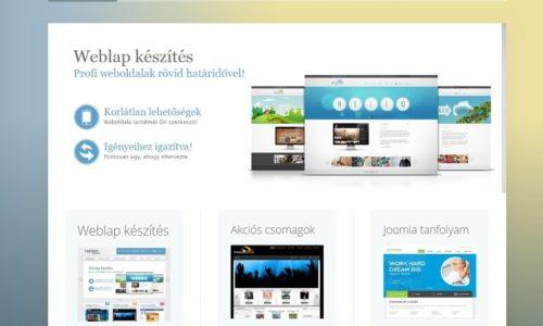 Weblapkészítés Budapesten