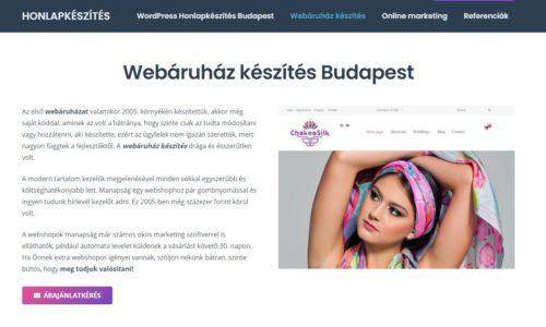 Webshop, webáruház készítése a karantén alatt
