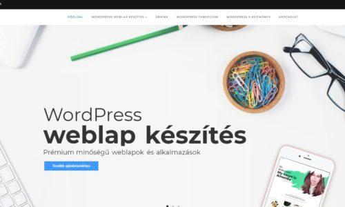 Sikeres WordPress weboldal készítés