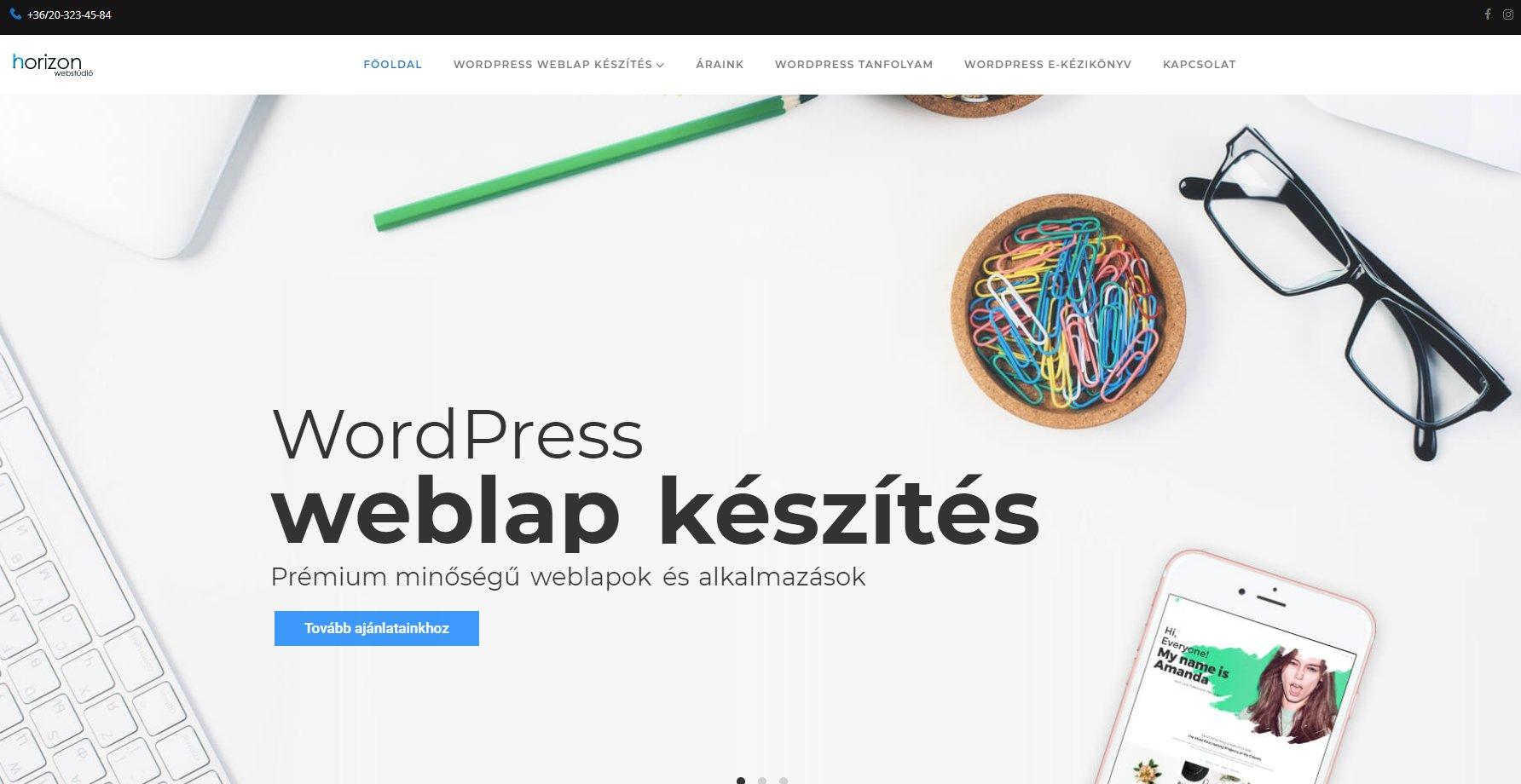 Sikeres és ügyes WordPress weboldal készítés